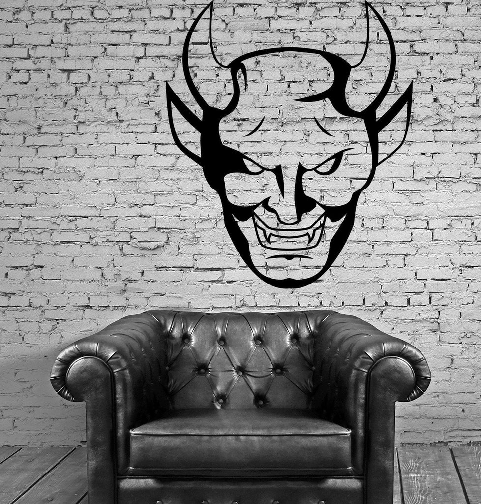 Devil Scary Creepy Gothic Decor For Living Room Wall Sticker Vinyl Decal Unique Gift (z1130)