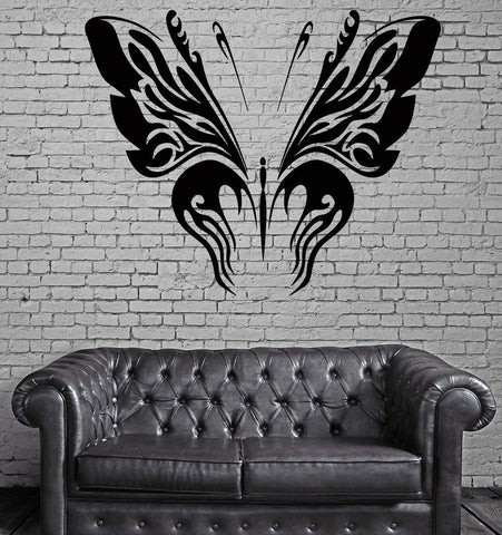 Butterfly Nature Wings Floral Decor Wall mural vinyl Decal Sticker Unique Gift z208
