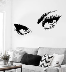 Wall Sticker Sexy Hot Eyes Girl Teen Woman Decal For Living Room Decor Unique Gift (z2561)