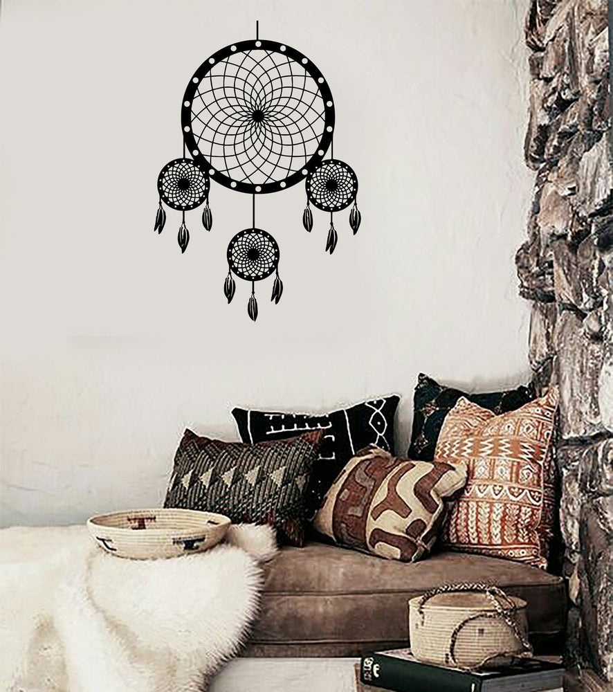 Wall Mural Dreamcatcher Dream Catcher Amulet Native American For Bedroom Unique Gift (z2803)