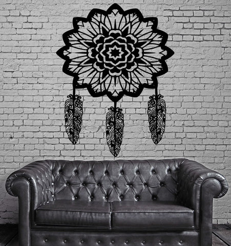 Decal Dream Catcher Dreamcatcher Ornament American Native For Bedroom (z2810)