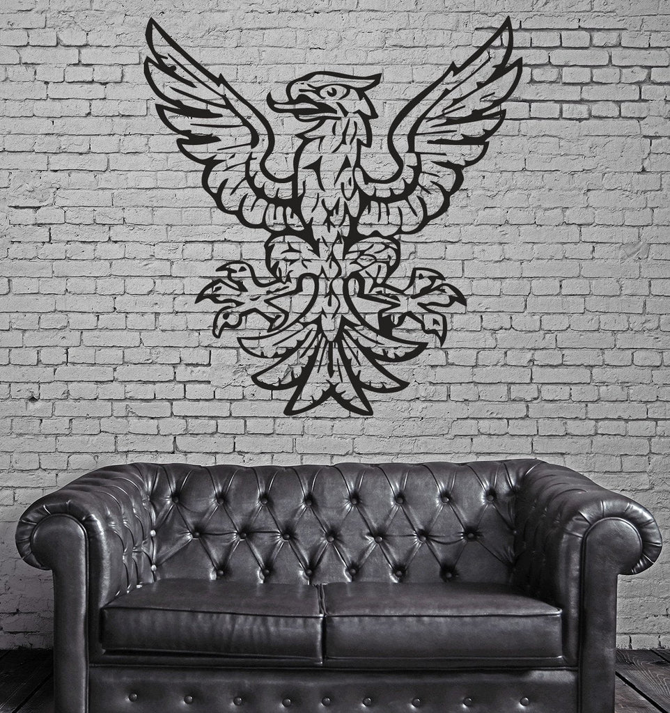 Heraldy Blazons Middle Ages Eagle Mural Wall Art Decor Vinyl Sticker z292