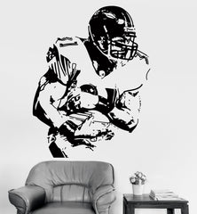 Vinyl Wall Decal Sticker Football Sport Super Bowl Unique Gift (z3222)