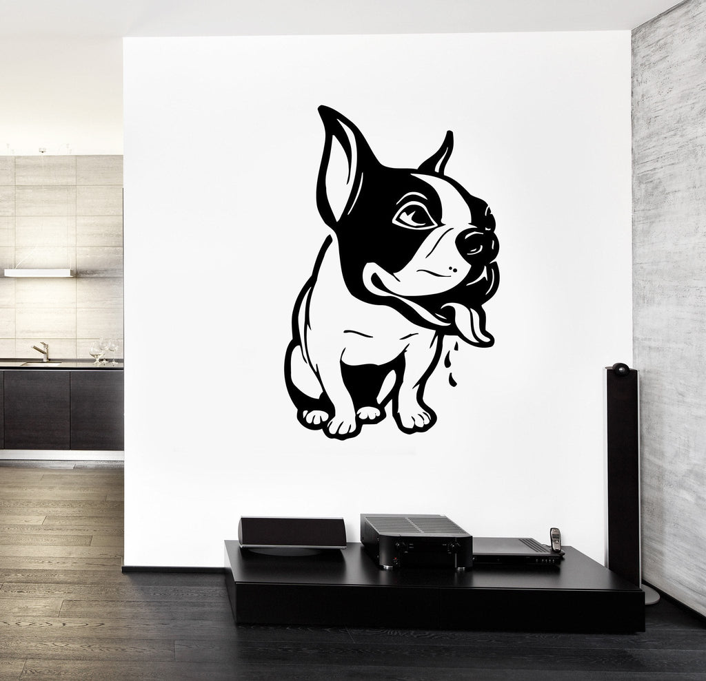 Wall Decal French Dog Pets Funny Animal Vinyl Sticker Unique Gift z3258 & Wall Decal French Dog Pets Funny Animal Vinyl Sticker Unique Gift ...