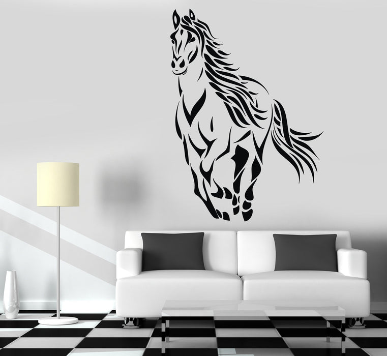 Wall Decals Horse Mustang Animal Freedom Vinyl Sticker Unique Gift z3294