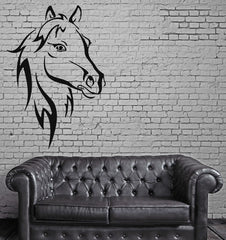 Horse Horserace Mustang Bronco Mural Wall Art Decor Vinyl Sticker Unique Gift z335