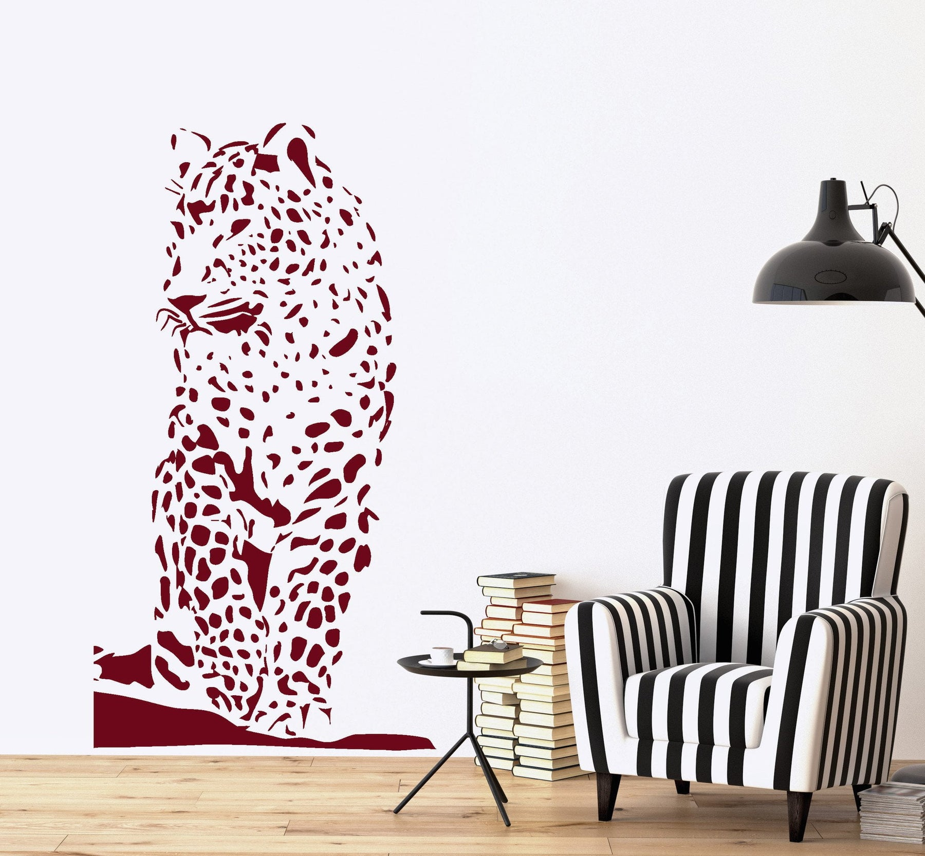 Wall Vinyl Decal Tiger Ethnic Decor Jungle African Sticker Unique Gift z3661