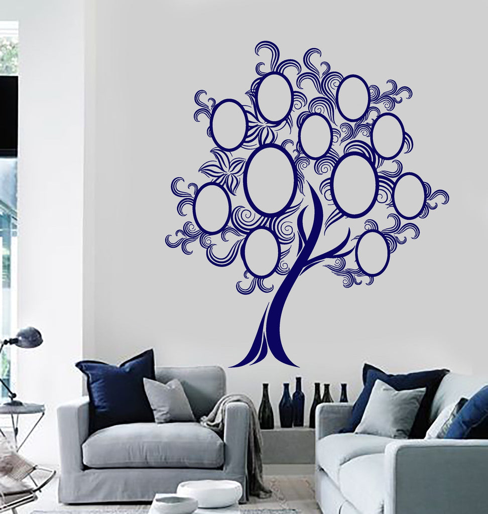 Wall Mural Familty Tree Bedroom Living Room Cool Decor Unique Gift