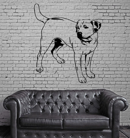 Dog Pets Animals Kids Children  Mural Wall Art Decor Vinyl Sticker z420