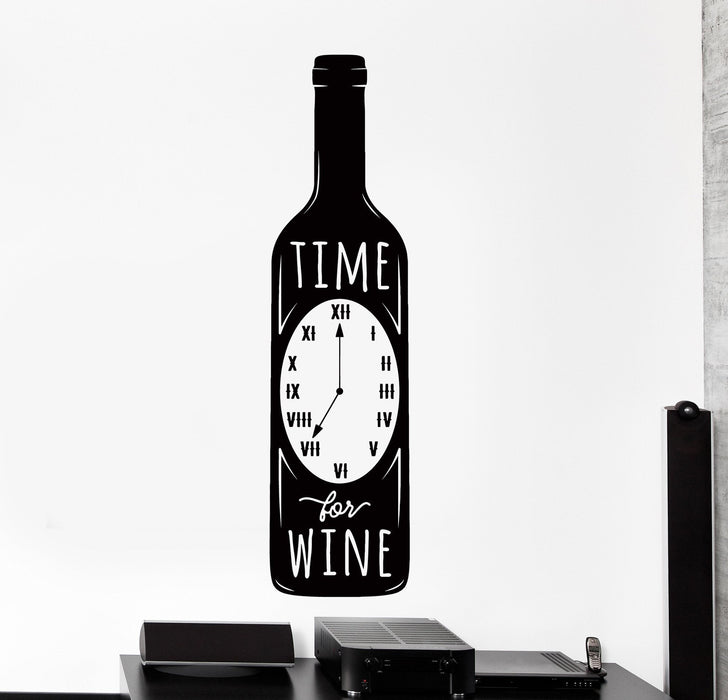 Red Barrel Studio Traditional Enjoy The Wine Time Bottle Wall Decal Wayfair