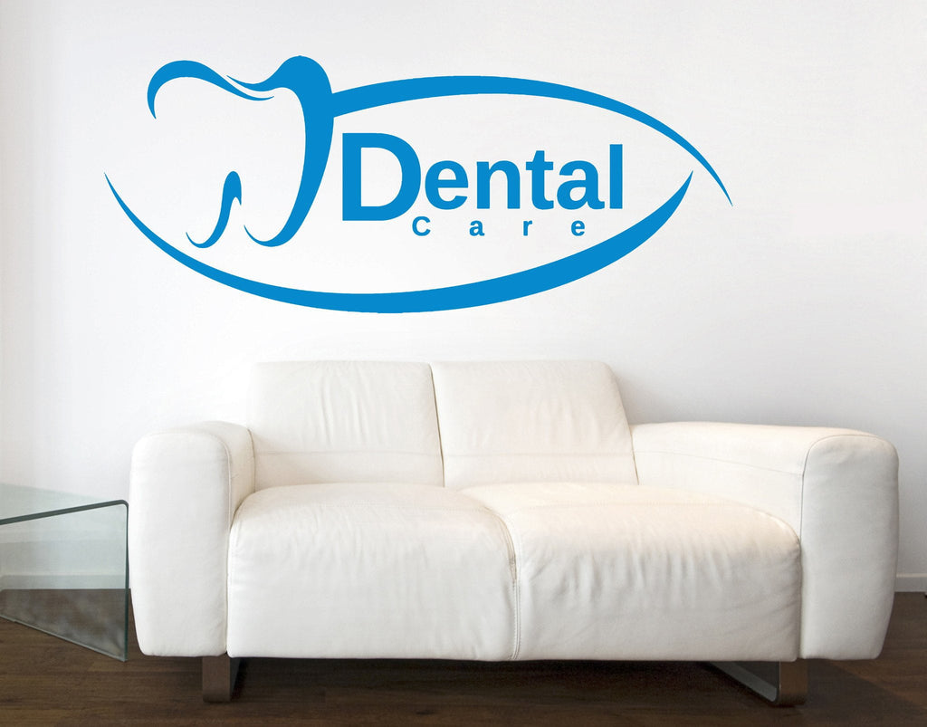 Vinyl Decal Dental Care Decoration Wall Sticker Dentist Clinic
