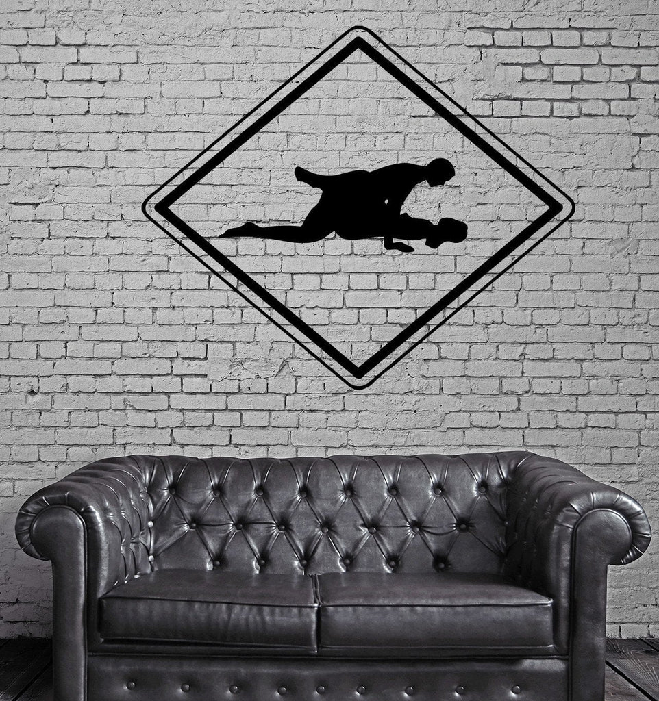 Making Love Sex Sign Symbol Wall Art Decor Vinyl Sticker Unique Gift z475