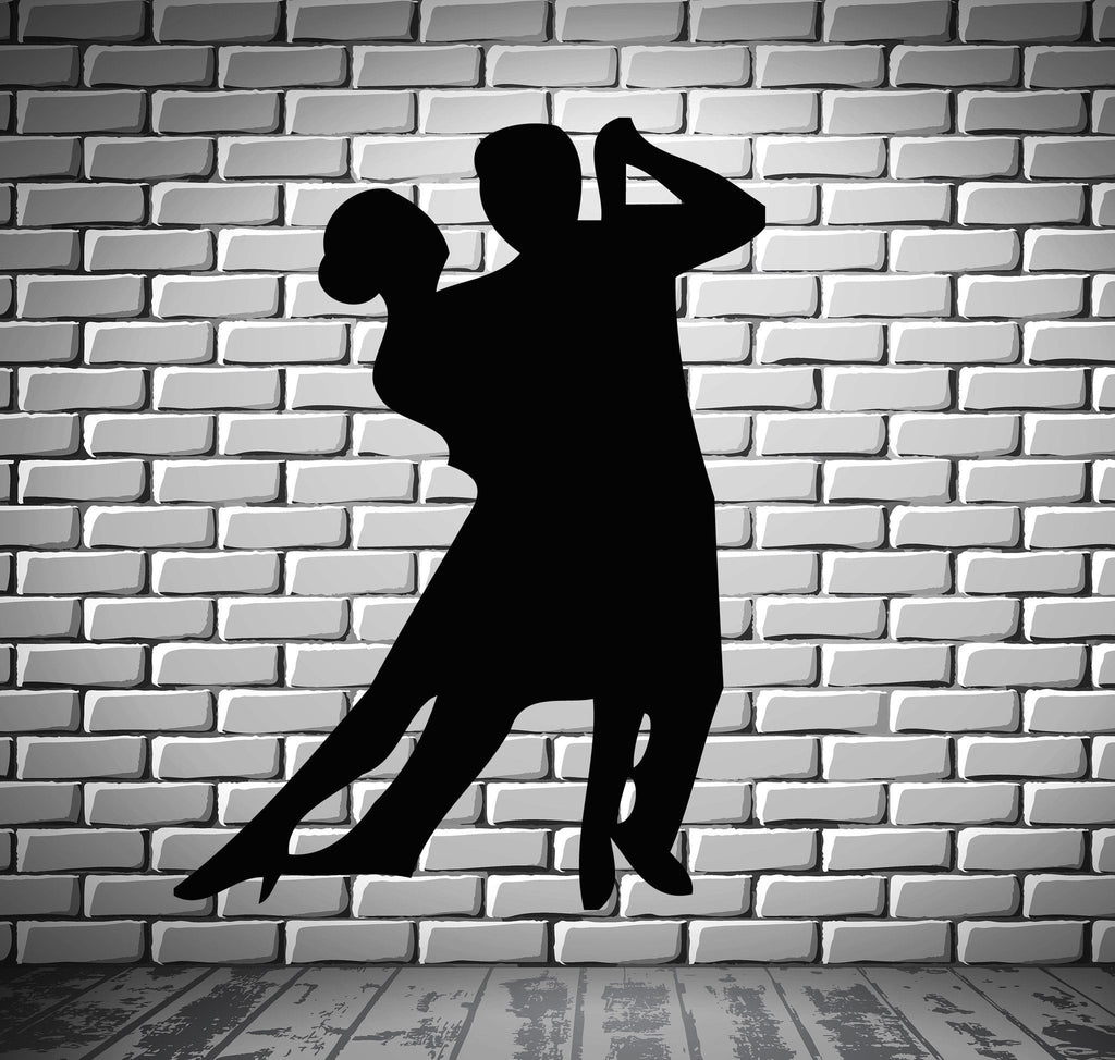 Dancing Falling in Love  Romantic  Marriage Wall Art Decor Vinyl Sticker Unique Gift z476