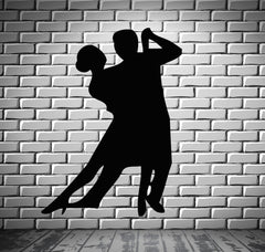 Dancing Falling in Love  Romantic  Marriage Wall Art Decor Vinyl Sticker z476