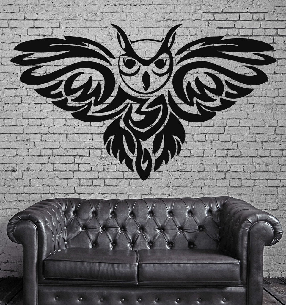 Owl Night Bird Scary Horror Funny Fairytale Wall Art Decor Vinyl Sticker Unique Gift z504 : scary wall art - www.pureclipart.com