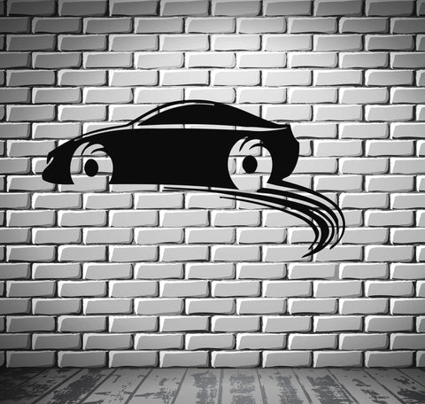 Sport Race Car Motor Speed Vehicle Mural  Wall Art Decor Vinyl Sticker z545