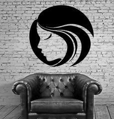 Female Woman Face Hot Sexy Beautiful Mural Wall Art Decor Vinyl Sticker Unique Gift z587