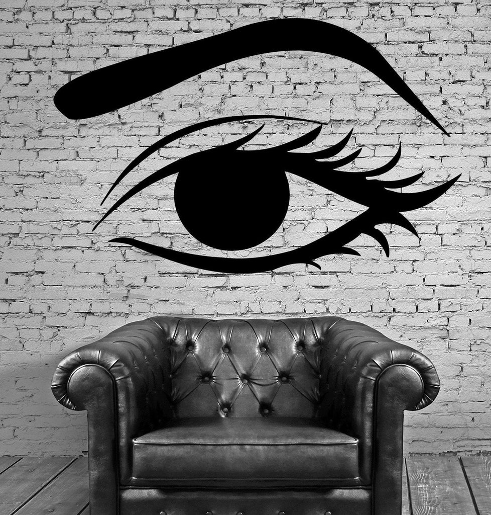 Female Woman Eye Make Up Hot Sexy  Mural  Wall Art Decor Vinyl Sticker z588