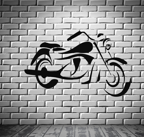 Bike  Sport Race  Motor Speed Extreme Mural Wall Art Decor Vinyl Sticker z644