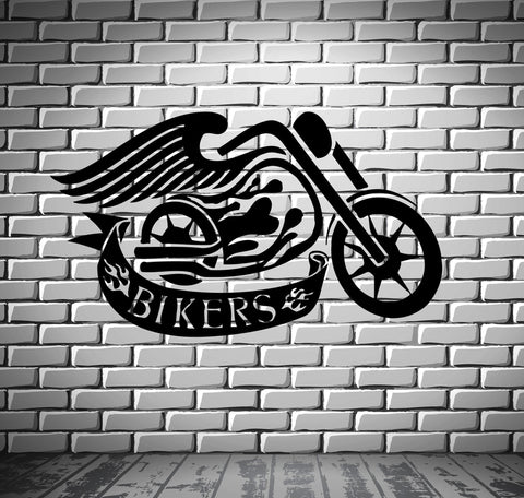 Car Bikes Boats Wall Vinyl Decal Wallstickersyou - Vinyl stickers for bikes