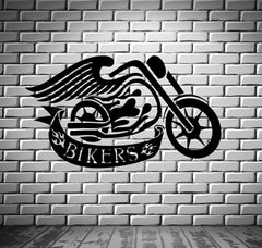 Bike Sport Race Motor Speed Extreme Biker Wall Art Decor Vinyl Sticker z645