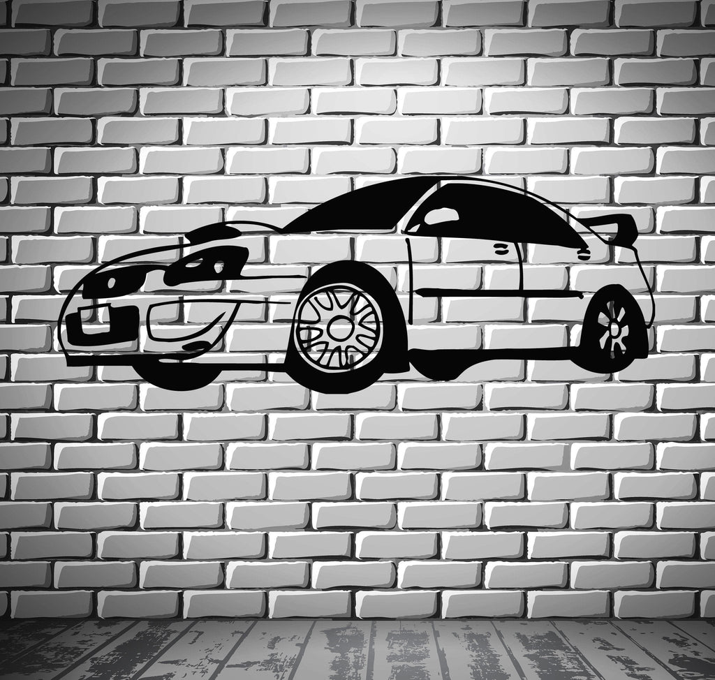 Sport Race Speed Car Motor Vehicle Mural  Wall Art Decor Vinyl Sticker Unique Gift z858