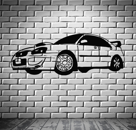 Sport Race Speed Car Motor Vehicle Mural  Wall Art Decor Vinyl Sticker z858
