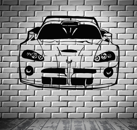 Sport Race Speed Car Motor Vehicle Mural  Wall Art Decor Vinyl Sticker z868