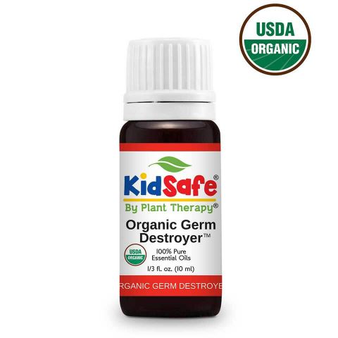 Plant Therapy Germ Destroyer Organic KidSafe Essential Oil 10mL