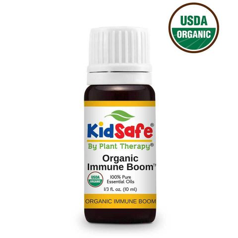 Plant Therapy Immune Boom Organic KidSafe Essential Oil 10mL
