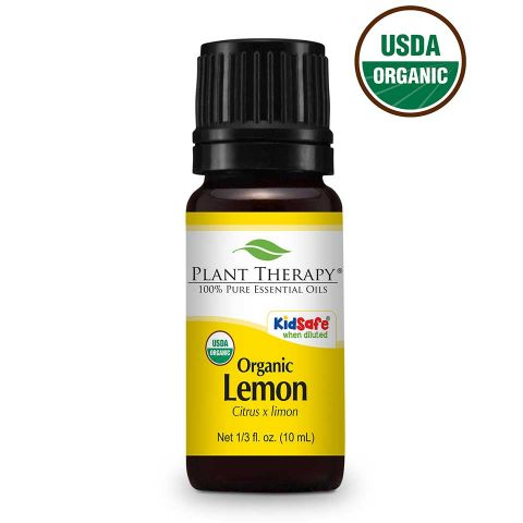 Plant Therapy Lemon Organic Essential Oil 10mL