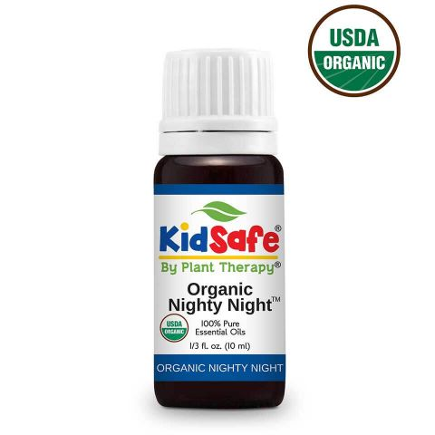 Plant Therapy Nighty Night Organic KidSafe Essential Oil 10mL