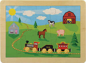 Countryside Railroad Puzzle