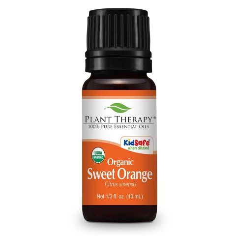 Plant Therapy Orange Sweet Organic Essential Oil 10mL