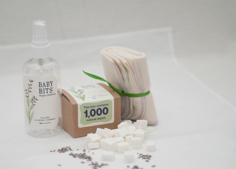 Baby Bits Wipes Solution