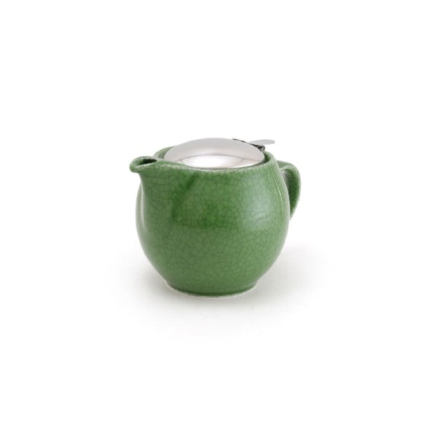 Bee House 15 Ounce Ceramic Teapot - Crackle Green -