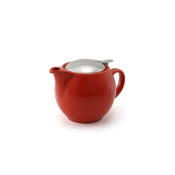 Bee House 15 Ounce Ceramic Teapot - Tomato -