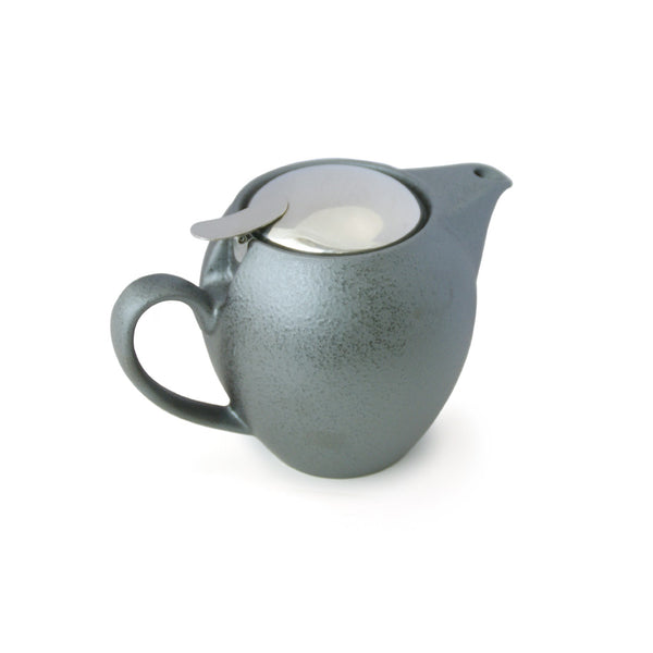 【Sample Sale】Bee House 19.6 Ounce Ceramic Teapot - Antique Silver -