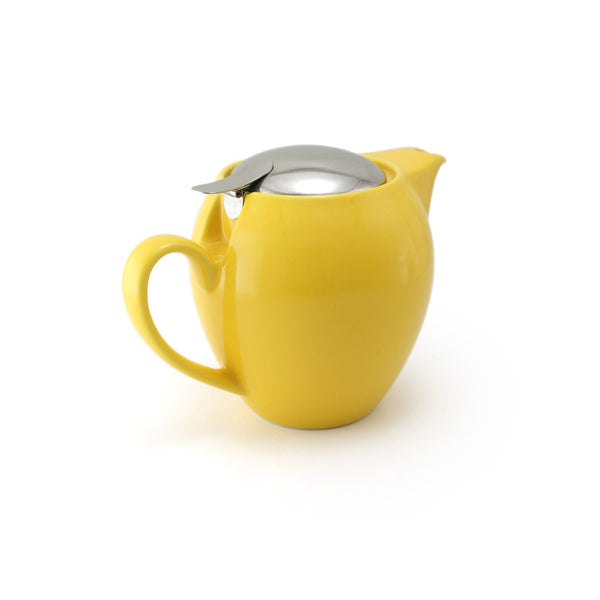 Bee House 19.6 Ounce Ceramic Teapot - Yellow Pepper -