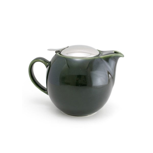 【Sample Sale】Bee House 24 Ounce Ceramic Teapot - Antique Green -