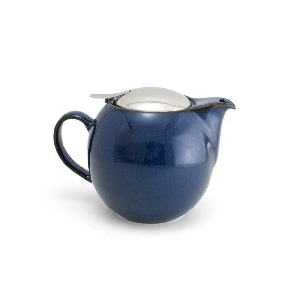 Bee House 24 Ounce Ceramic Teapot -  Jeans Blue -