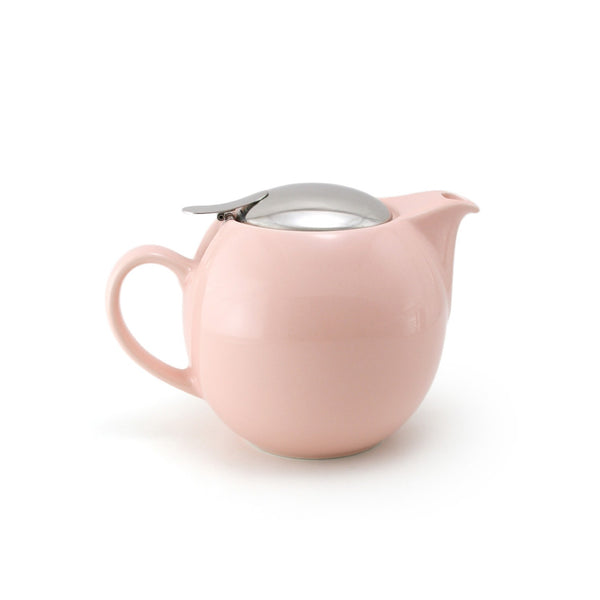 Bee House 24 Ounce Ceramic Teapot - Pink  -