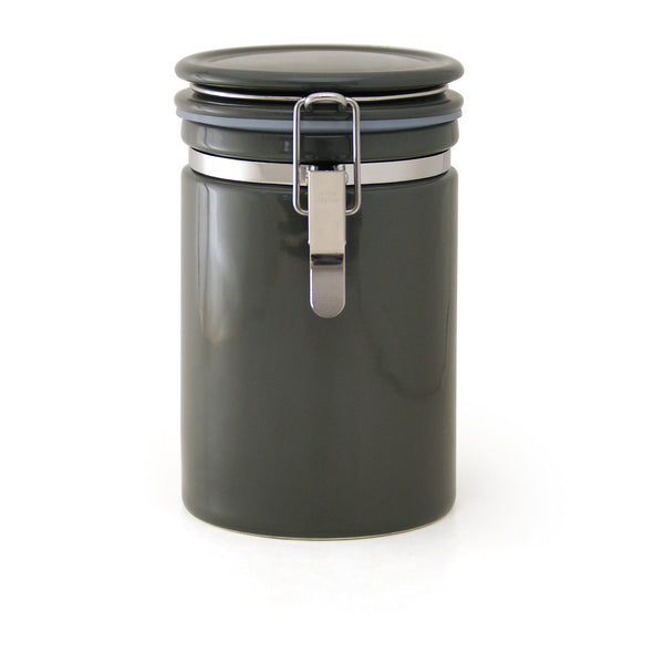 Coffee canister -Steel Gray