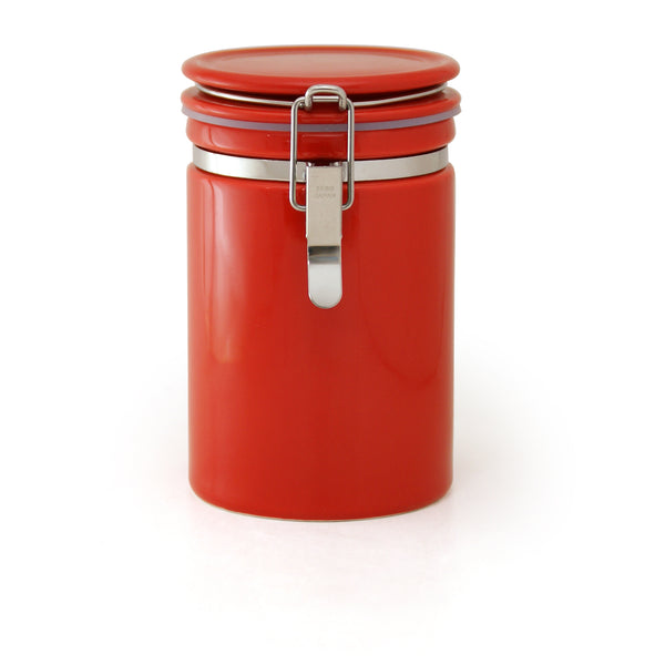 Coffee canister - Tomato