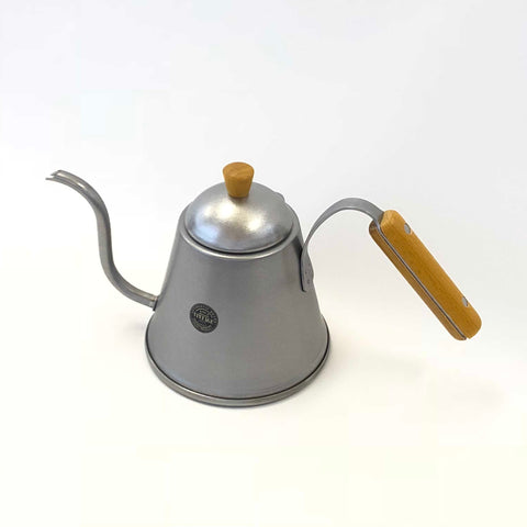 Wood Handled Stainless Steel Pourover Kettle - Vintage Edition 1.0L