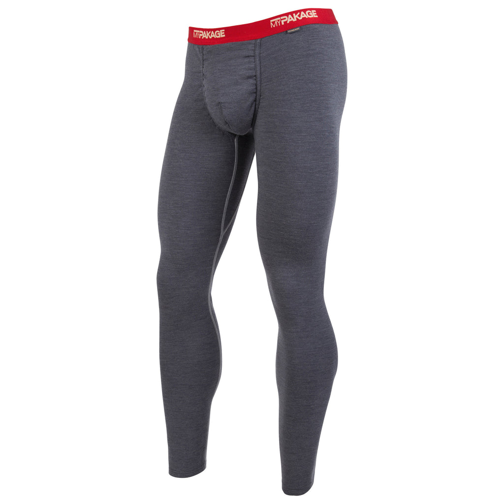 Charcoal Heather First Layer Pant