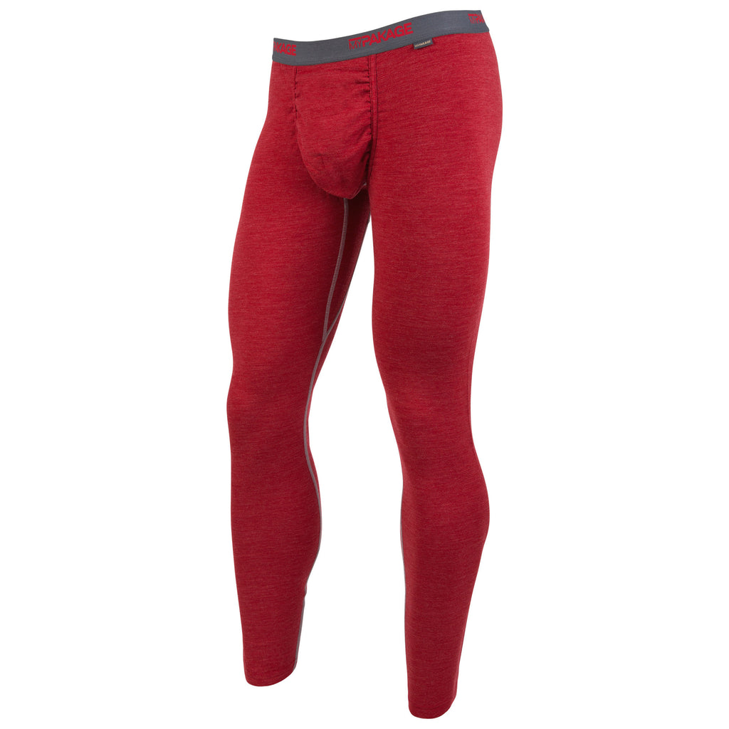 Crimson Heather First Layer Pant