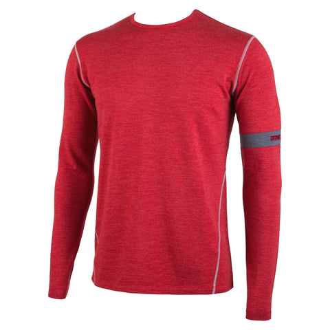 Crimson Heather Long Sleeve First Layer Top
