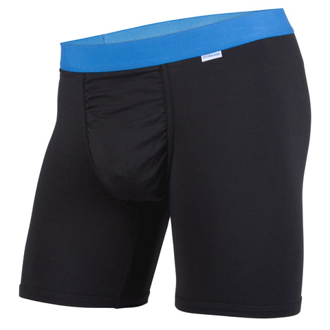Weekday Boxer Brief: Black/Blue