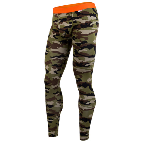 Weekday Full Length: Camo/Orange